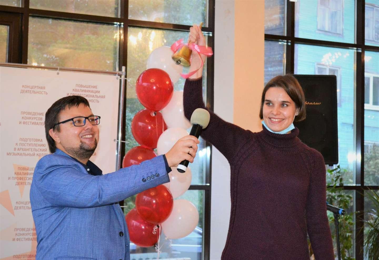Сегодня в Архангельском музыкальном колледже состоялась торжественная встреча первокурсников